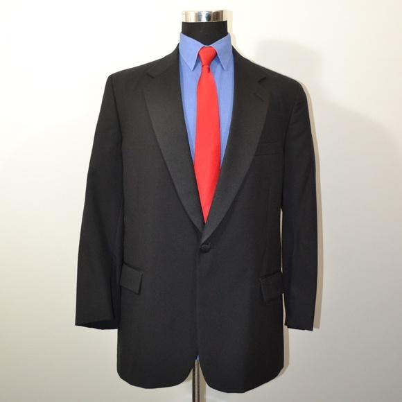 Brooks Brothers Other - Brooks Brothers 43R Tuxedo Jacket Black Wool USA S